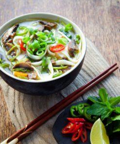 Zelfgemaakte vietnamese pho