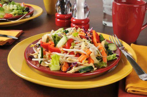 Aziatische taugé salade