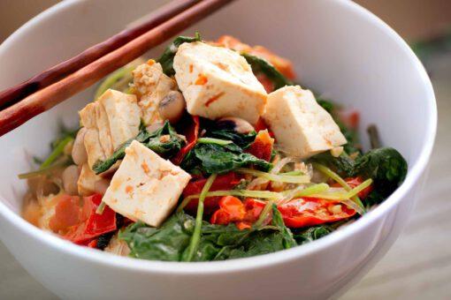tofu salade