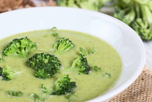 broccolisoep met shiitake